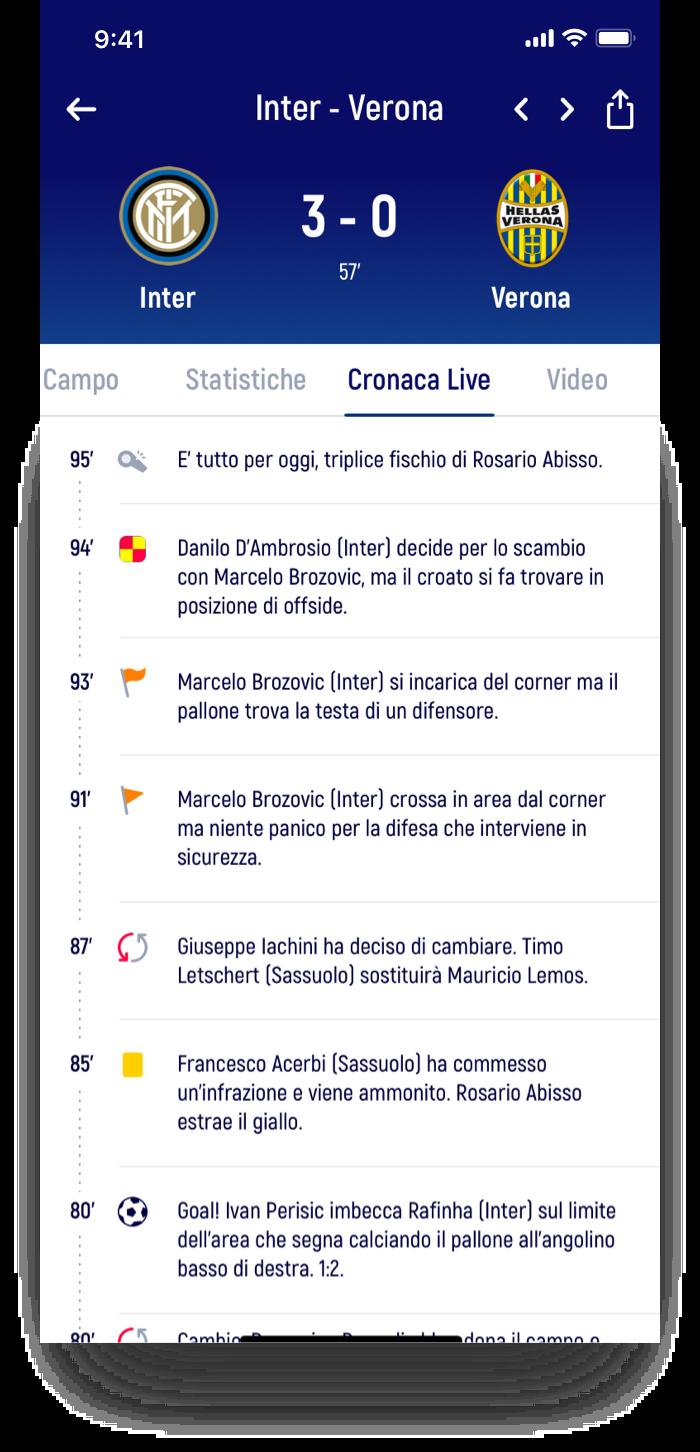 Live feed – Fantamaster | Claudio Mammana